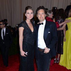 Lauren Bush y David Lauren en la Gala del MET 2013