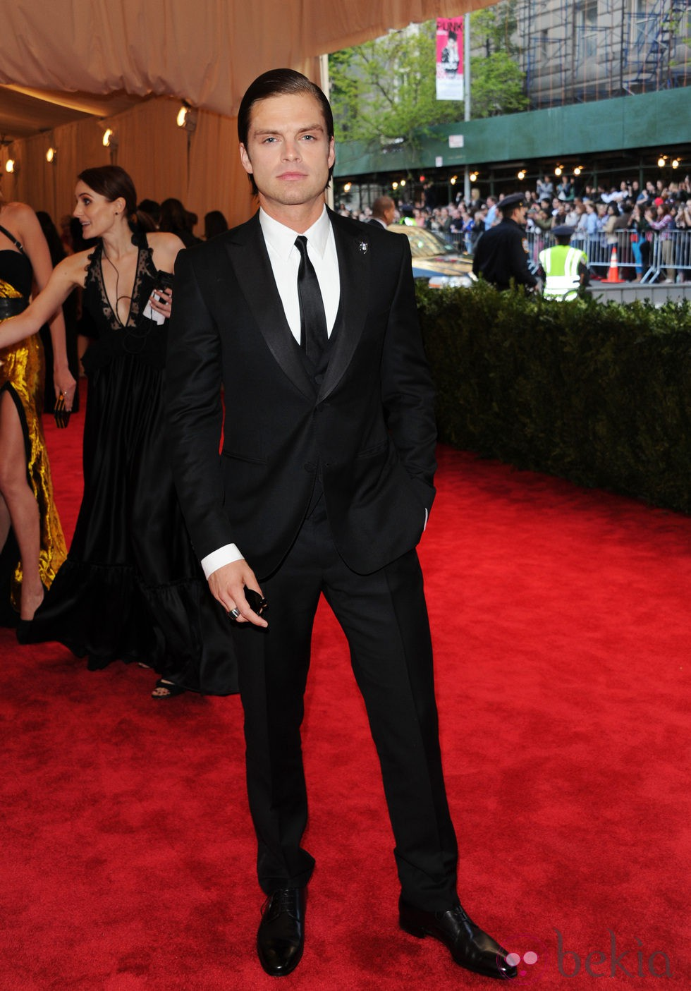 Sebastian Stan en la Gala del MET 2013