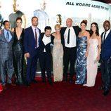 Michelle Rodriguez, Justin Lin, Elsa Pataky y el reparto de 'Fast&Furious 6' en Londres
