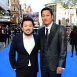 Justin Lin y Ssang Kang en el estreno mundial de 'Fast&Furious 6' en Londres