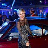 Elsa Pataky en el coche de 'Fast & Furious 6' en el estreno mundial de la película en Londres