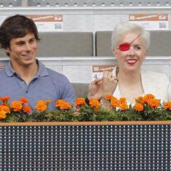 María de Villota y Rodrigo García Millán en el Open Madrid 2013