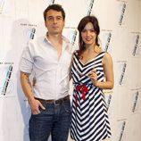 Verónica Sánchez y su novio en la presentación de una colección cápsula de Tommy Hilfiger