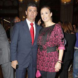 Cristina Sánchez y Alejandro Da Silva en la entrega del Premio Paquiro 2013