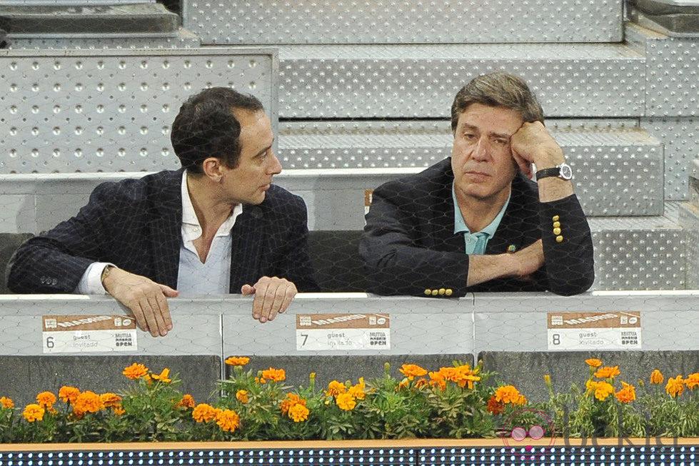 Cayetano Martínez de Irujo en el Open Madrid 2013