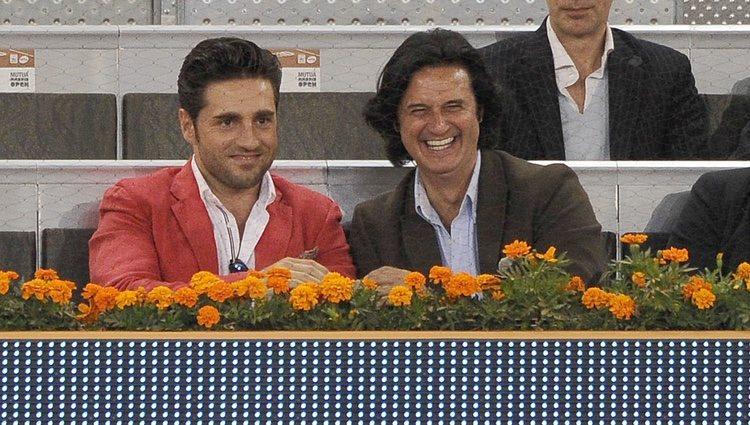 David Bustamante y Poty en el Open Madrid 2013