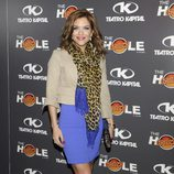 Beatriz Trapote en la celebración de las 500 funciones de 'The Hole'