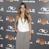 Ana Fernández en la celebración de las 500 funciones de 'The Hole'