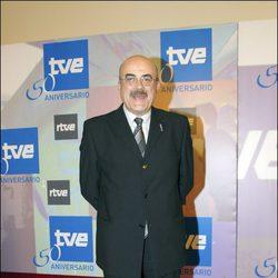 Constantino Romero en el 50 aniversario de TVE Barcelona