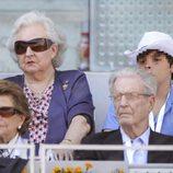 La Infanta Pilar en la final del Open de Madrid 2013