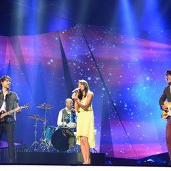 El Sueño de Morfeo en su primer ensayo sobre el escenario de Eurovisión 2013