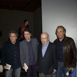 Miguel Ríos, Joaquín Sabina, José Manuel Caballero Bonald y Joan Manuel Serrat