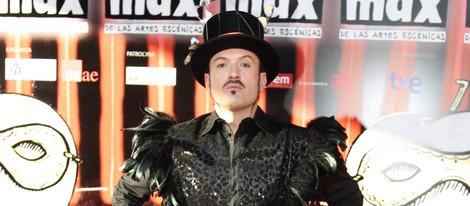 Álex O'Dogherty en la entrega de los Premios Max 2013