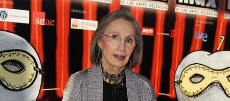 Ana Diosdado en la entrega de los Premios Max 2013