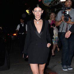 La modelo Liberty Ross en la Cena de Cosméticos organizada por Vogue y MAC