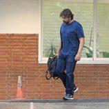 Javier Bardem en la clínica Ruber para presenciar el parto de Mónica Cruz
