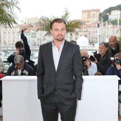 Leonardo DiCaprio en el Festival de Cine de Cannes 2013
