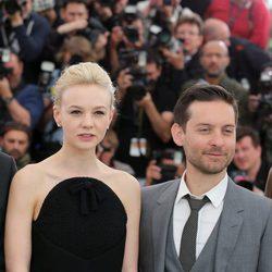 Carey Mulligan y Tobey Maguire en el Festival de Cine de Cannes 2013