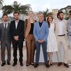 El equipo de 'The Greast Gastby' en el Festival de Cine de Cannes 2013