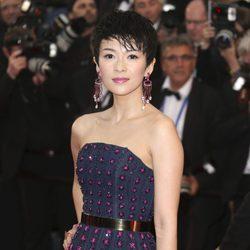 Zhang Ziyi en la ceremonia de apertura del Festival de Cannes 2013