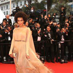 Solange Knowles en la ceremonia de apertura del Festival de Cannes 2013