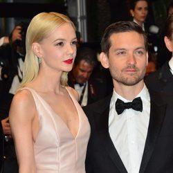 Carey Mulligan y Tobey Maguire en la ceremonia de apertura del Festival de Cannes 2013