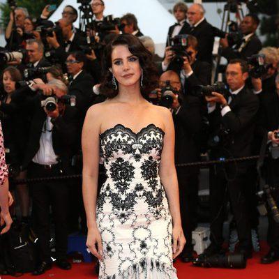 Lana del Rey en la ceremonia de apertura del Festival de Cannes 2013