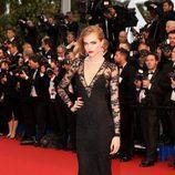 Cara Delevingne en la ceremonia de apertura del Festival de Cannes 2013