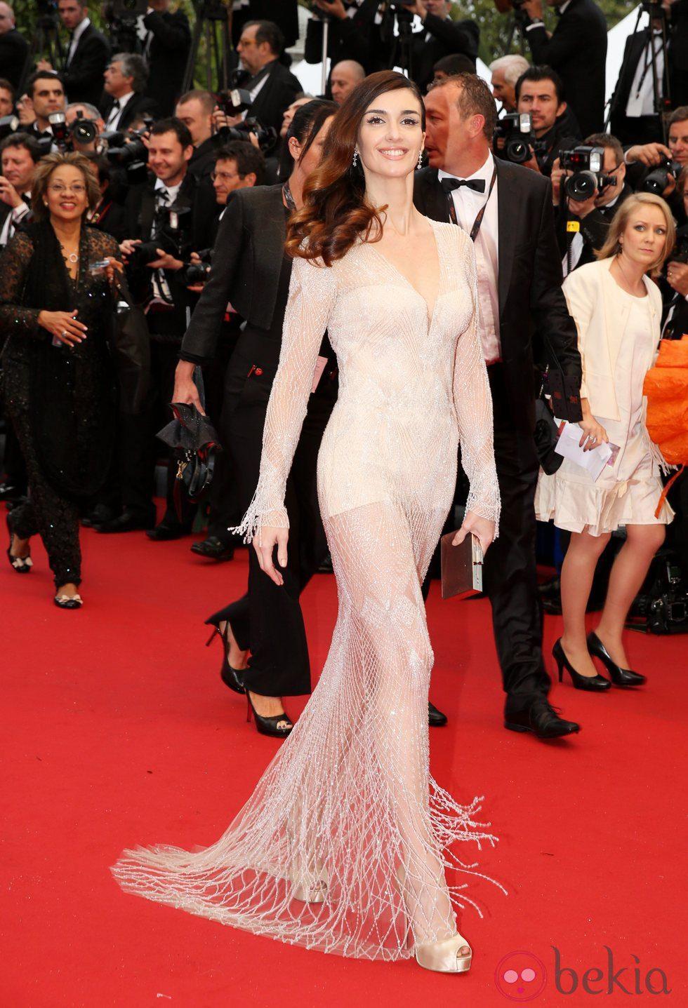 Paz Vega en la ceremonia de apertura del Festival de Cannes 2013