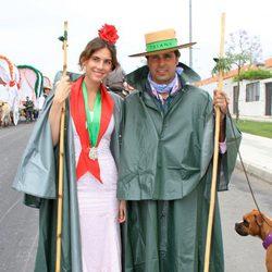 Fran Rivera y Lourdes Montes en la Romería de El Rocío 2013