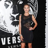 Heidi Klum en la presentación de una colección cápsula de Versace Versus