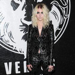 Taylor Momsen en la presentación de una colección cápsula de Versace Versus