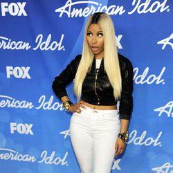 La jueza del programa Nicki Minaj en la final de 'American Idol'