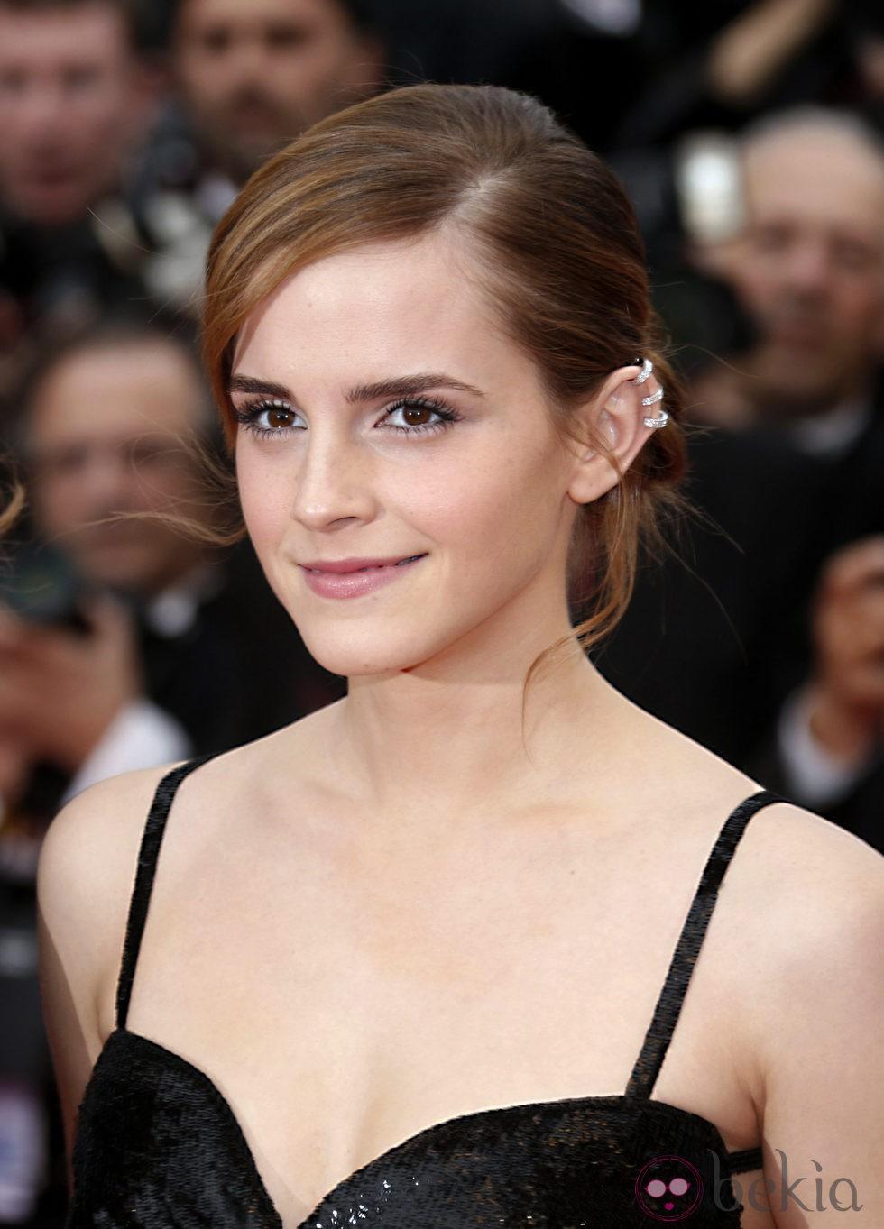 Emma Watson presentando 'The Bling Ring' en el Festival de Cannes 2013