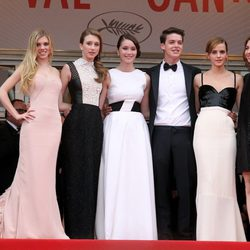 El reparto y la directora de 'The Bling Ring' en el Festival de Cannes 2013