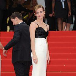 Emma Watson en la proyección de 'The Bling Ring' en el Festival de Cannes 2013