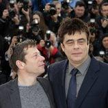 Mathieu Amalric y Benicio Del Toro en el Festival de Cannes 2013