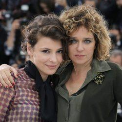 Valeria Gouno y Jasmine Trinca en el Festival de Cannes 2013
