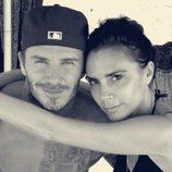David y Victoria Beckham durante unas vacaciones en Maldivas