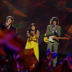 El Sueño de Morfeo representando a España en el Festival de Eurovisión 2013