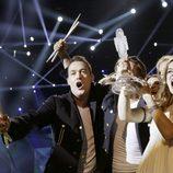 Dinamarca con el premio del Festival de Eurovision 2013