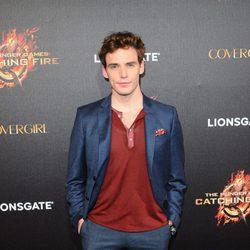 Sam Claflin en la presentación de 'Los Juegos del Hambre: En llamas' en Cannes 2013