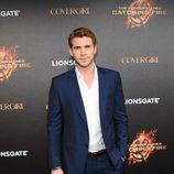 Liam Hemsworth en la presentación de 'Los Juegos del Hambre: En llamas' en Cannes 2013