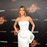 Jennifer Lawrence en la presentación de 'Los Juegos del Hambre: En llamas' en Cannes 2013