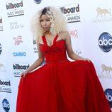 Nicki Minaj en la alfombra roja de los Billboard Music Awards 2013