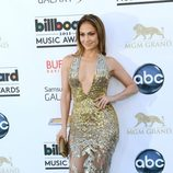 Jennifer Lopez en la alfombra roja de los Billboard Music Awards 2013