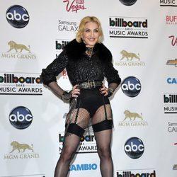 Madonna en la alfombra roja de los Billboard Music Awards 2013
