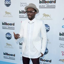 will.i.am en la alfombra roja de los Billboard Music Awards 2013