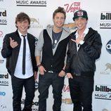 Emblem3 en la alfombra roja de los Billboard Music Awards 2013