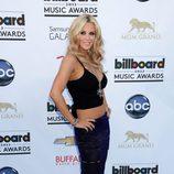 Jenny McCarthy en la alfombra roja de los Billboard Music Awards 2013